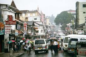 Busy Kandy Streets
