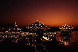 Skyline behind the Garagaramaya Temple