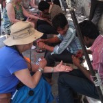 Preparing the Henna