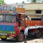 Colorful Coconut Trucks