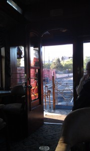 Our Caboose Had the BEST View