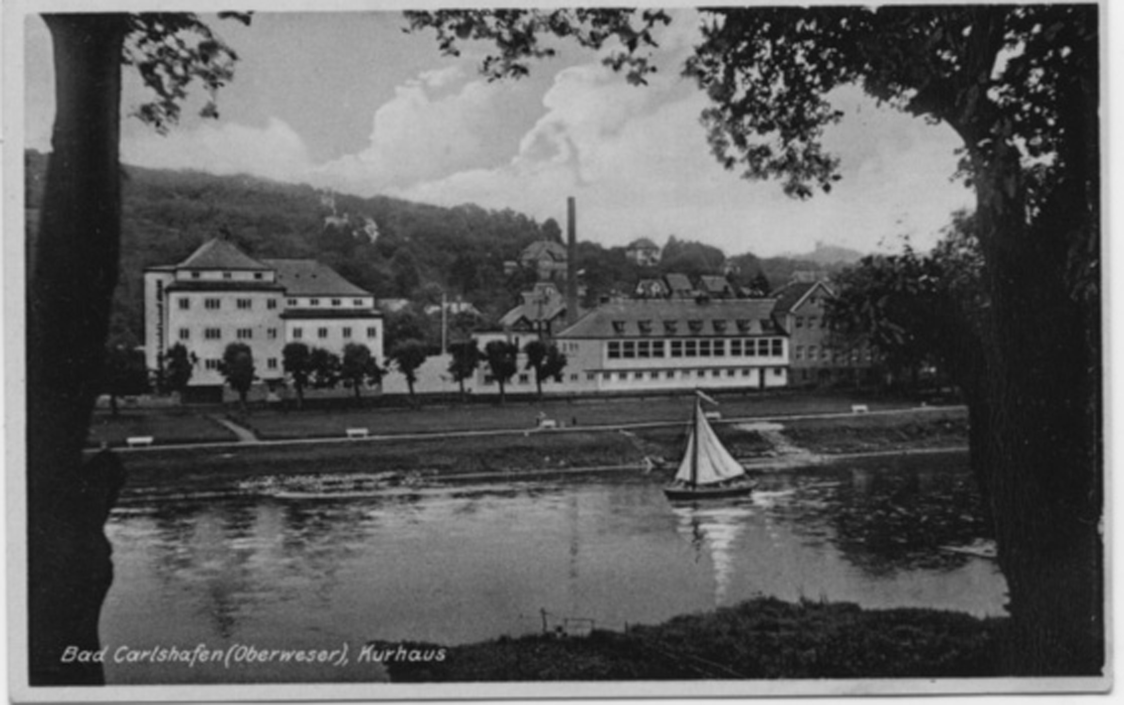 Postcard from Bad Karlshafen 1934