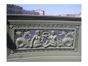 Anichov Bridge Detail